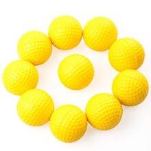 Пособие учебное учебные мячи практика гольфа пластиковый желтый эластичный открытом воздухе
