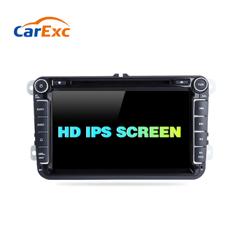 Android 9.0 Car DVD Multimedia AutoRadio For VW Golf 5 6 Volkswagen Passat b6 Skoda Octavia Superb Seat Leon Amarok Navigation image