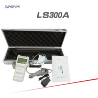 LS300 A portable velocity meter 0.01~4.0m/s Flow rate range rod position measurement Measurement method 8.4V , 4* 16 LCD display