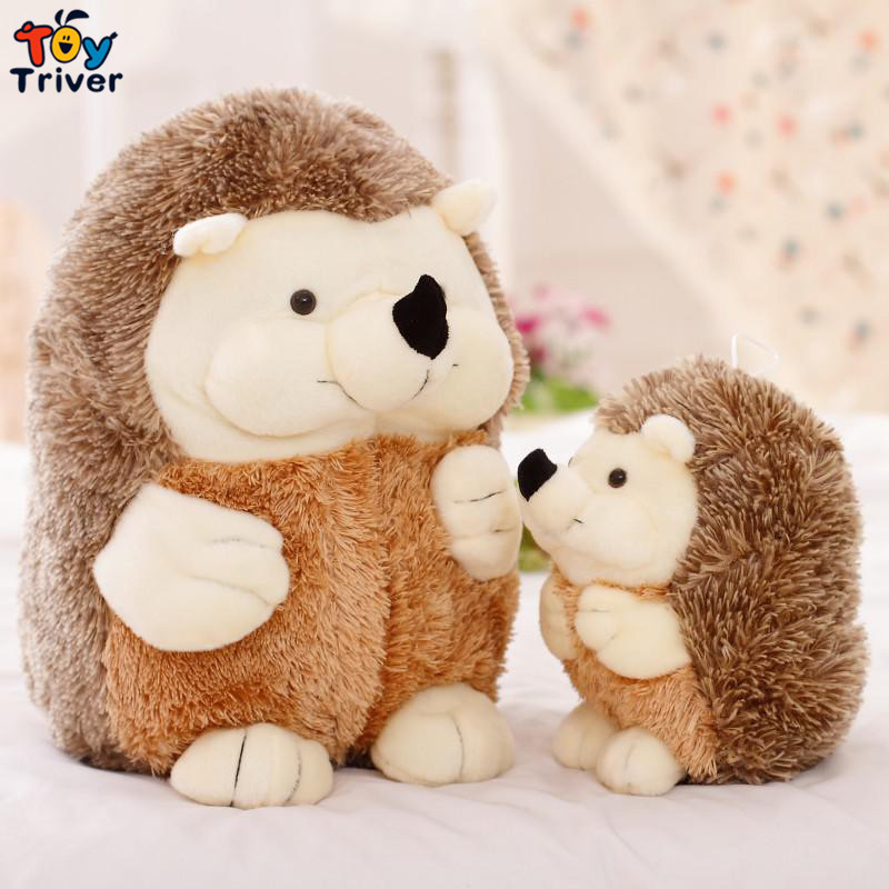 Cute Hedgehog Animal Doll Stuffed Plush Toys birthday christmas gift for children baby kids friend Creative kids Triver Toy купить