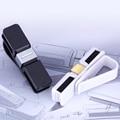 Multifunctional car glasses Sunglasses clip Holders Card Visor Pen Business Card Clip Holder Black White 2 Colors gift box