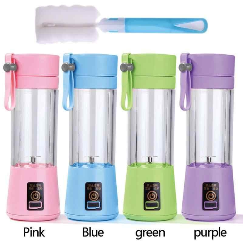 380 ml Portátil Mini USB Recarregável Liquidificador Juicer Máquina De Suco Misturador