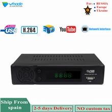 Vmade HD Digital Terrestrial TV Receiver DVB-T2 8939 Built-In Network H.264 MPEG-2/4 Set-Top Box Support Megogo Youtube