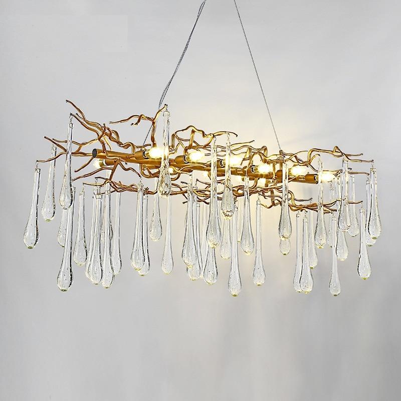Privjesak za dnevne sobe, svjetlosne svjetiljke sa francuskim - Unutarnja rasvjeta - Foto 2