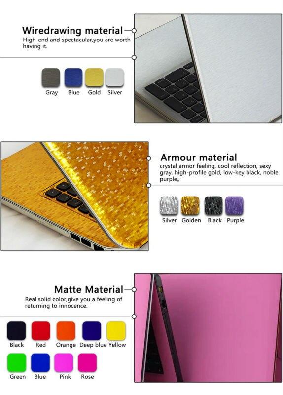 Laptop aufkleber persönlichkeit skins protective aufkleber reine ...