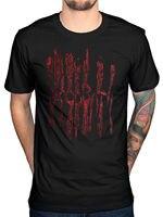 2017 Men S New Fashion Men S Bloodbath Texas Chainsaw Massacre T Shirt Scary Movie Halloween