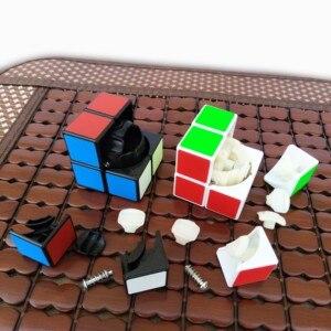 Image 3 - Qiyi 2X2 קסם קוביית 3x3 מקצועי Cubo Magico 2x2x2 מהירות קובייה כיס 3x3x3 פאזל קוביות צעצועים חינוכיים לילדים