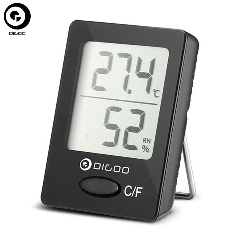 Digoo dg-th1130 домашний уют безопасности цифровой ЖК-дисплей Крытый термометр-гигрометр Температура измеритель влажности Мониторы