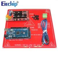 CNC 3D Printer Kit For Arduino Mega 2560 R3 Development Board Heated Bed MK2B RAMPS 1