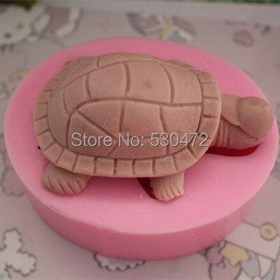 1 шт. C152 черепаховая Глина Керамическая форма силиконовая форма для торта Мыло Форма FM