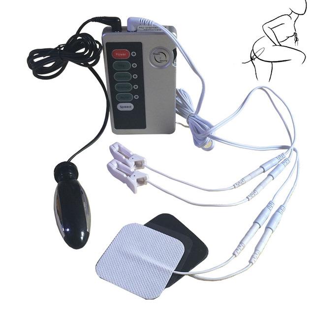 Electro shock body 2 pads multiple stimulation