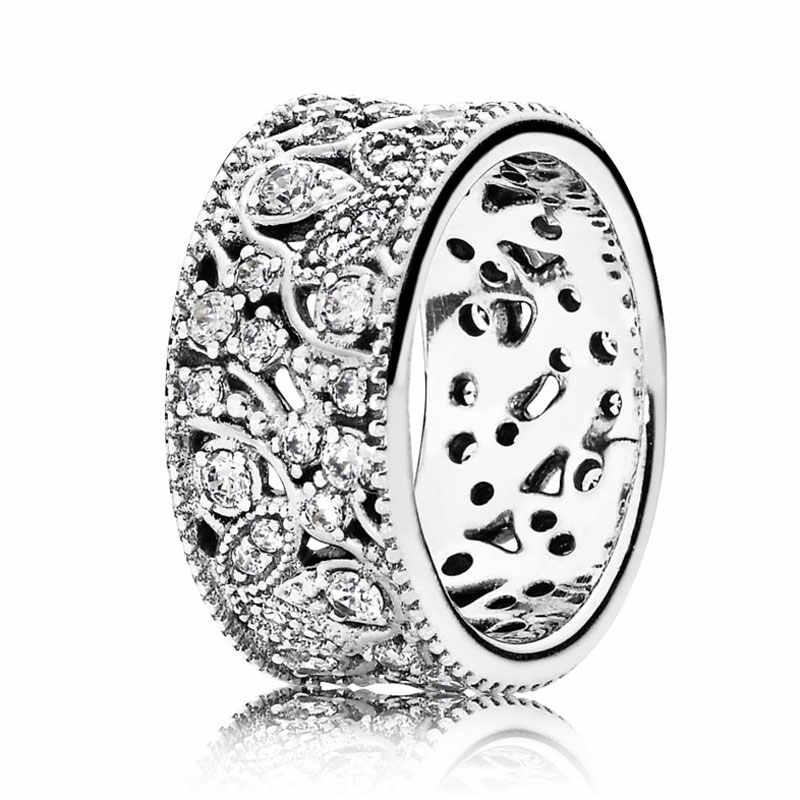 ... Перламутровые сердца переплетая Серебряные кольца 925 пробы серебро  кольцо печатка для Для женщин Свадебные украшения DIY ... f8d299f6c5e