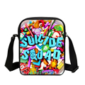 Epoch Fashion Harley Quinn Suicide Squad School Bags for Girl Funny Joker Crossbody bag Children Kids Mochila Students Small Bag