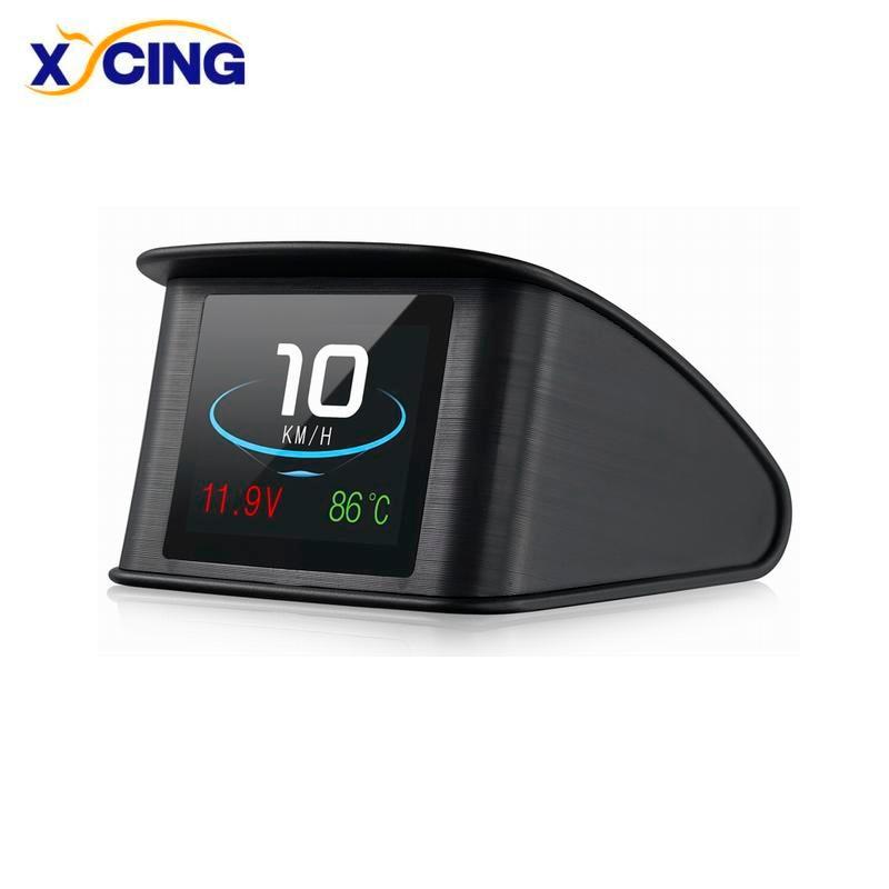 XYCING Hud OBD gps компьютер автомобиль скорость проектор Цифровой скорость метр дисплей расход топлива Температура Датчик диагностический инстр...