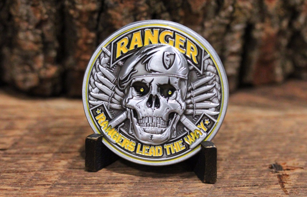 US Army Ranger Challenge Coin - Rangers Lead The Way (1)
