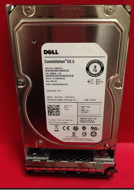 3 years warranty  100%New and original   3TB SAS 7.2K ST33000650SS