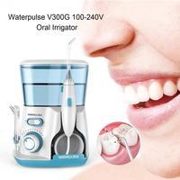 Waterpluse Oral Irrigator Wash Tooth Water Jet Pick Dental Floss Teeth Flosser Hydro Set 800ML Capacity Tooth Cleaner