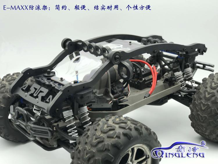 rc car TRAXXAS E-MAXX emaxx Roll Cage Nylon body cover protection free shipping anime shining hearts melty granite ice cream ver 1 8 scale sexy action figure collectible model toy 8 20cm