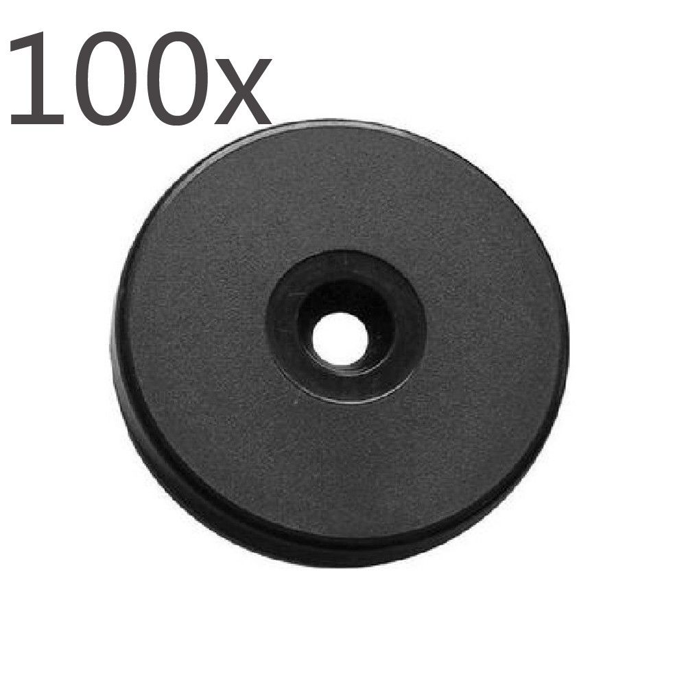 Free Shipping Ultralight ABS NFC Disc Tag 30MM 100PCS A Lot
