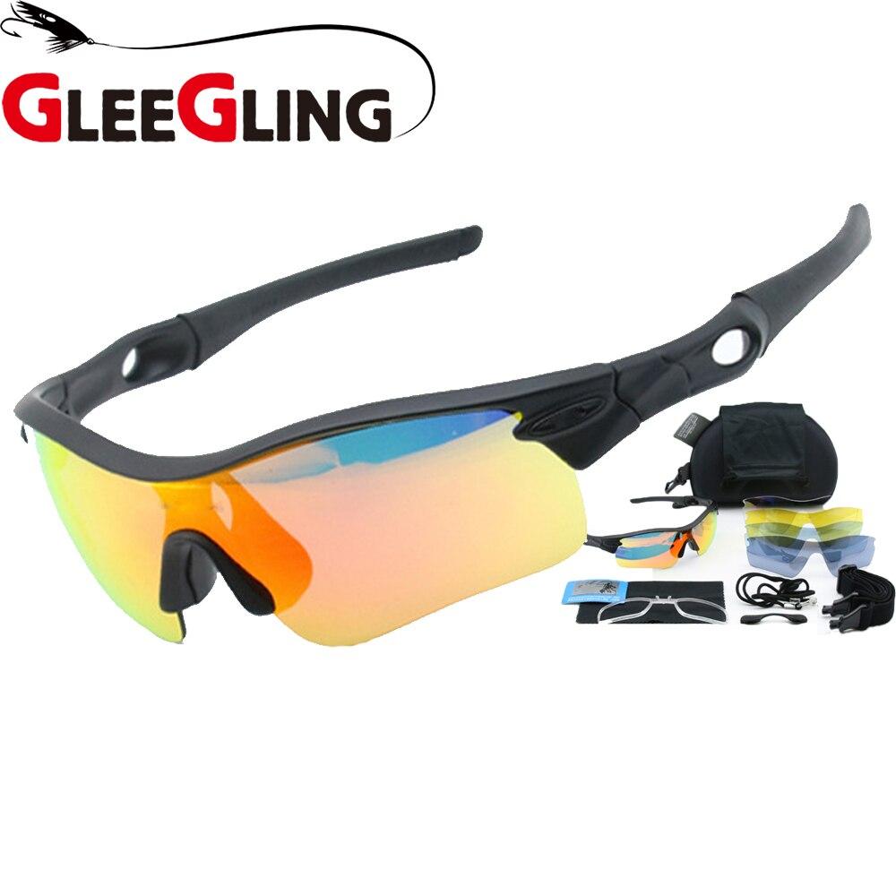 8f7687cc6 Óculos de Sol sobre Polarizados Gleegling 9290 1 Conjunto 5 Lente dos  Homens Oculos Pesca Polorizado Esporte