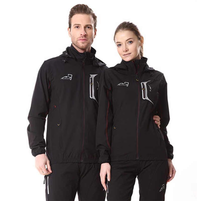 Long Sleeves Cycling Jersey Set Men Women Thermal Fleece Waterproof Bike  Jacket Pants Suit Winter Cycling 0e7aad15f