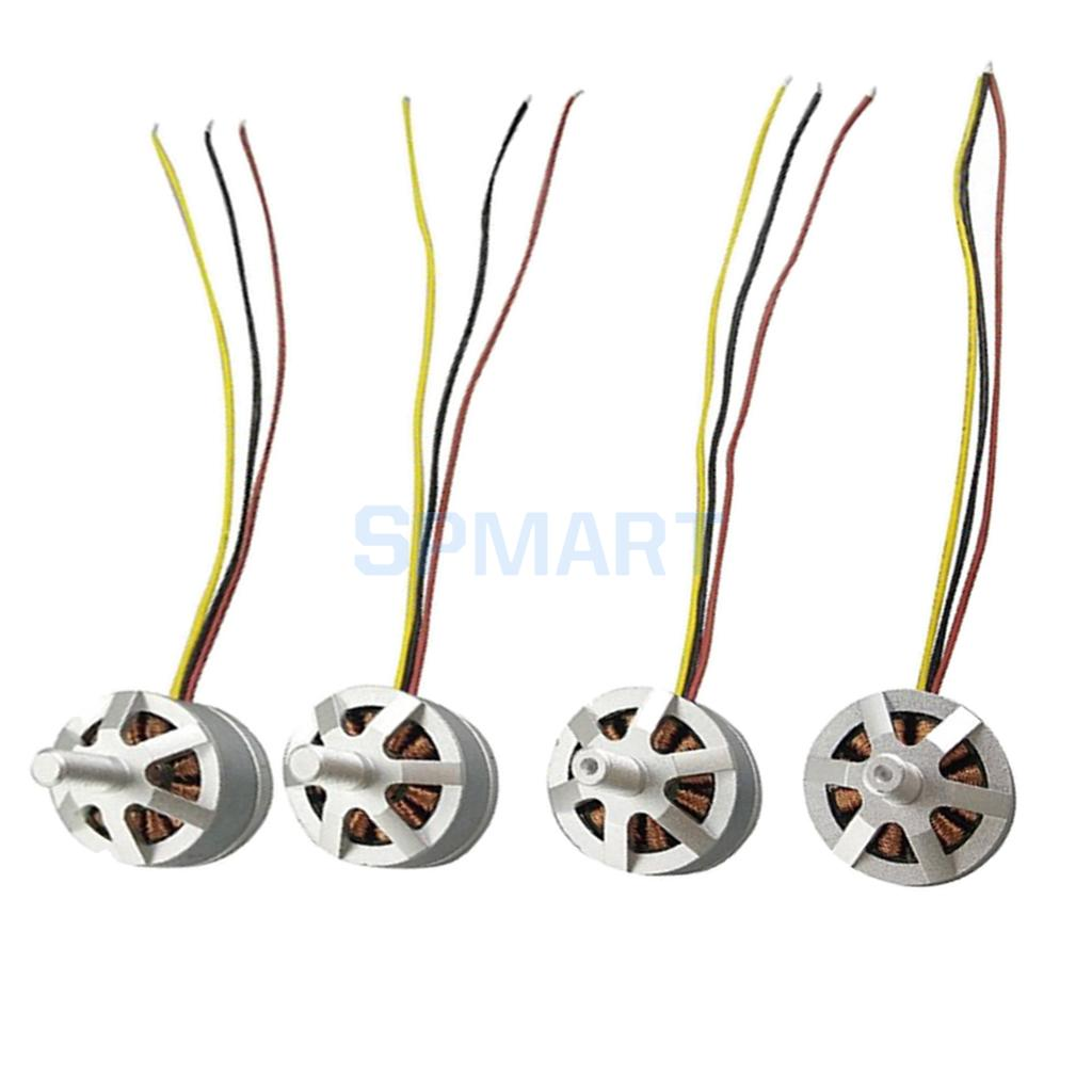 4Pcs Motor CW CCW for MJX B3 Bugs 3 RC Drone Quadcopter Spare Parts Brushless Motors Model Aircraft Accessories visuo xs809w drone original parts motors engines rc quadcopter spare parts cw ccw motor