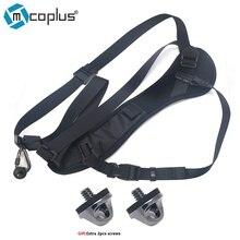 Mcoplus universal cámara sling rápida correa de la correa de hombro almohadilla de esponja para canon nikon sony panasonic olympus dslr cámaras