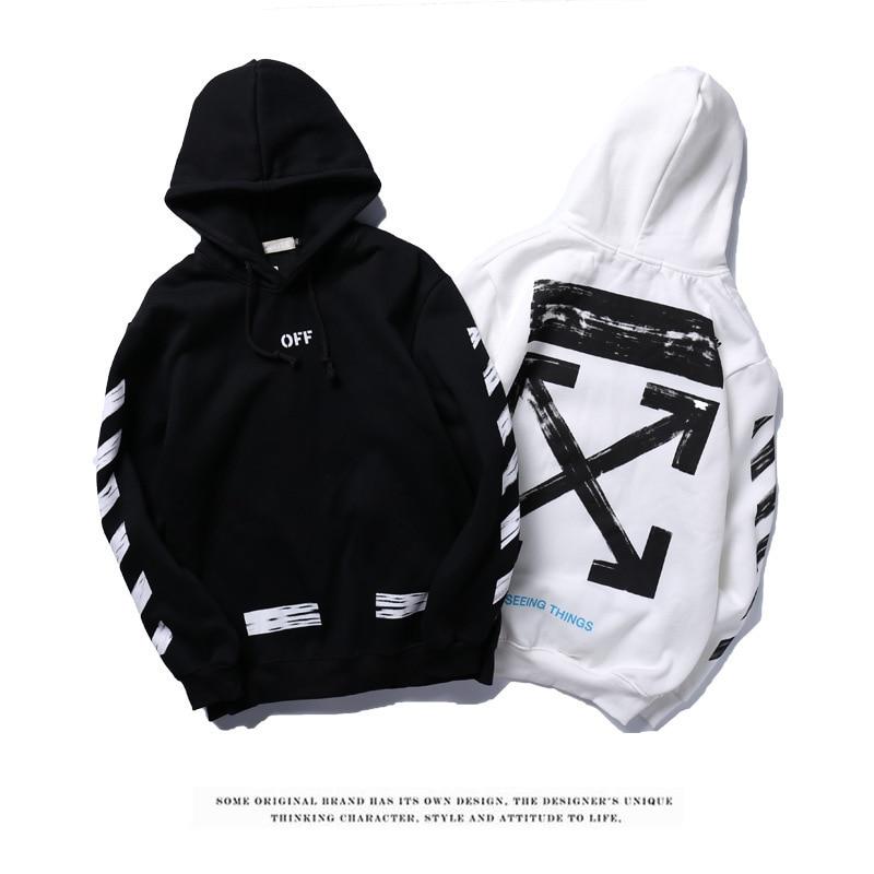 b170e72314ae Off white hoodie brand sketch graffiti fashion hoodies-in Hoodies ...