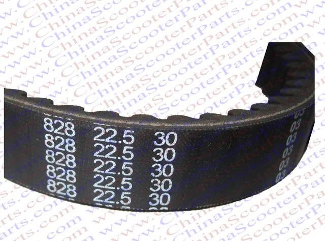 828 22.5 30 CVT cinturón Helix 250CC CN250 Elite CH250 scooter ATV KAZUMA baotian jonway
