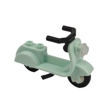 Single sale CPJ159-1 Legoing Citys Green motorcycle DIY model Figures Set Blocks Children toy Legoings toy(China)