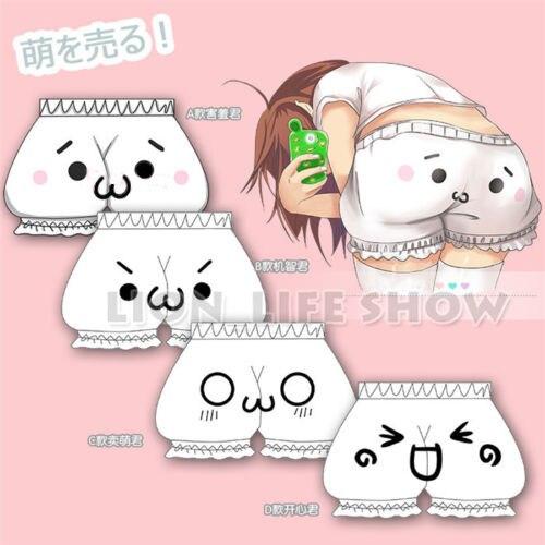 Lolita Cute anime cosplay LUMINOUS MISSION HIGH SCHOOL bloomer hot   shorts