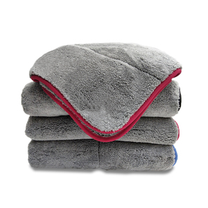 Image 4 - East Double sided Coral Velvet Home Cleaning Towels Super Absorbent House Cleaning Double layer Car Care  Washing Towel