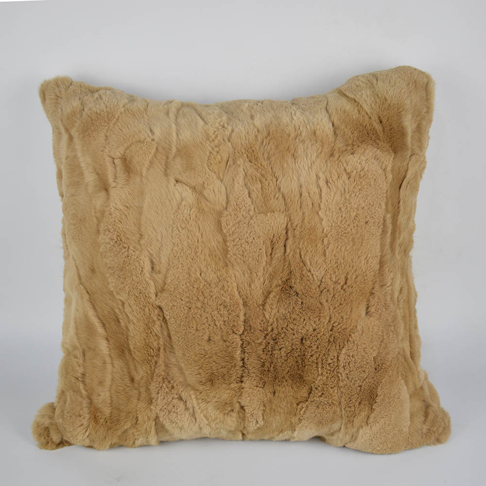 rex rabbit fur pillow 4