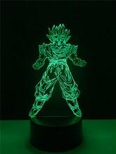 """""""Dragon Ball"""" Super Saiyan Goku Table Lamp"""