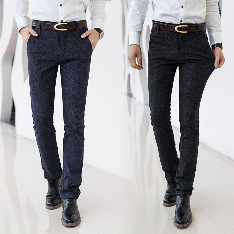 Image 4 - Бренд HCYX, 2019, четыре сезона, классические, высокое качество, мужские повседневные штаны, брюки, мужские, повседневные штаны, Бизнес Стиль, прямые, размер 38-in Повседневные брюки from Мужская одежда