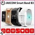Jakcom B3 Banda Inteligente Novo Produto De Pulseiras Como Medidor De Pulso Pulseira Monitor De Freqüência Cardíaca de Pulso Relógio Bluetooth fone de Ouvido