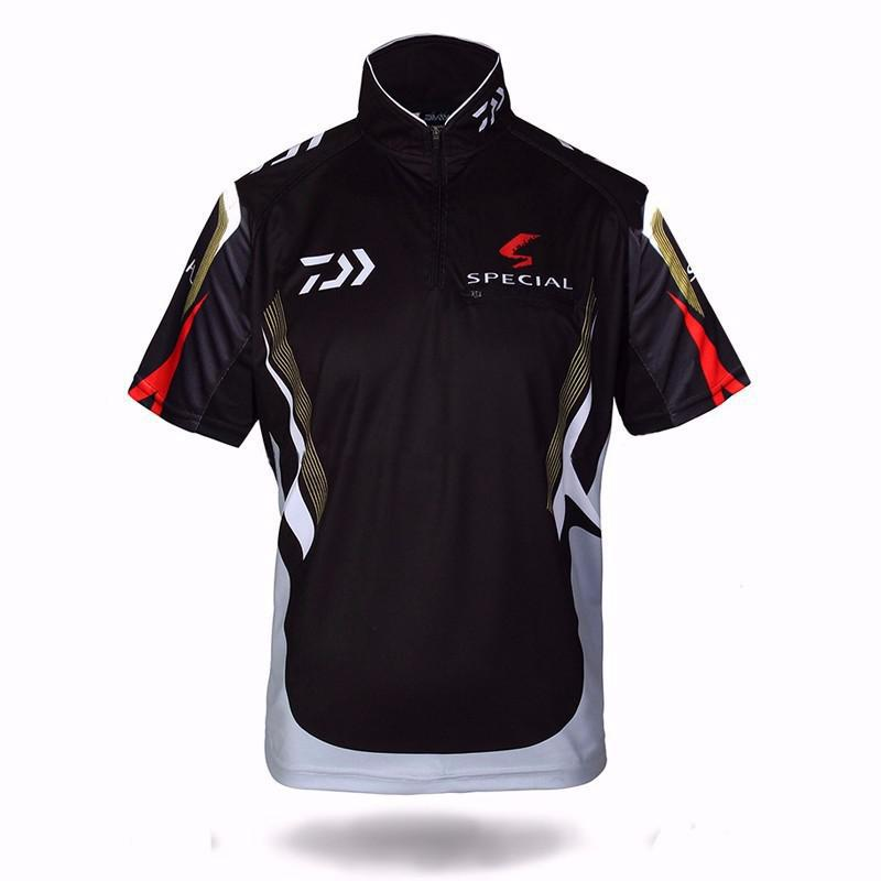 DAIWA DAWA Fishing Clothing Short Sleeve Fishing Shirt ...