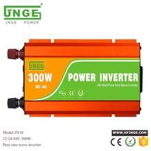 300W pure sine wave solar inverter DC 12V 24V to AC 110V 220V 230V peak power 600W home UPS