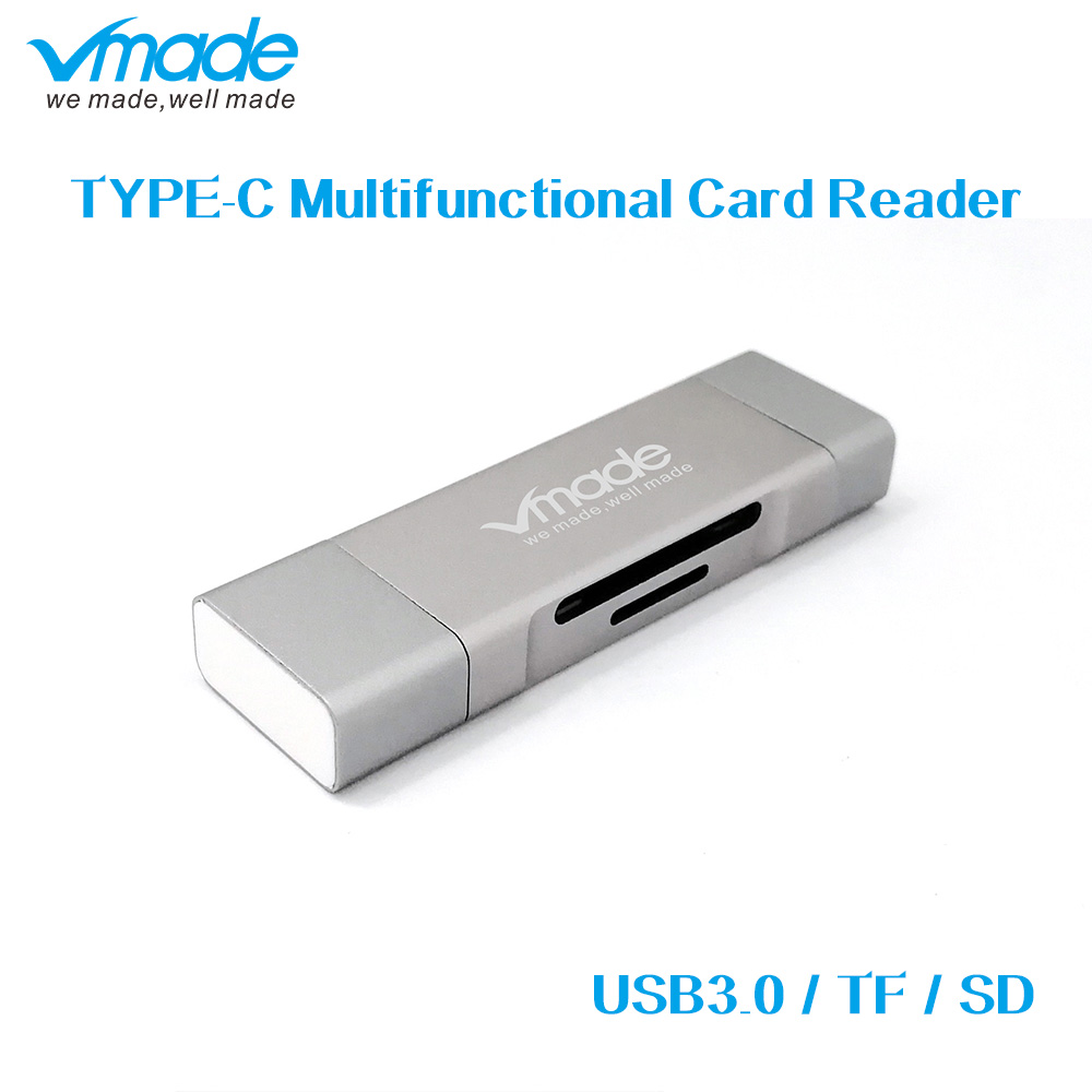 Vmade USB C HUB Multi Function TF SD Card Reader For Google Chromebook/Xiaomi/Apple/Huawei Type C Micro USB 2.0/USB 3.0 Adapter