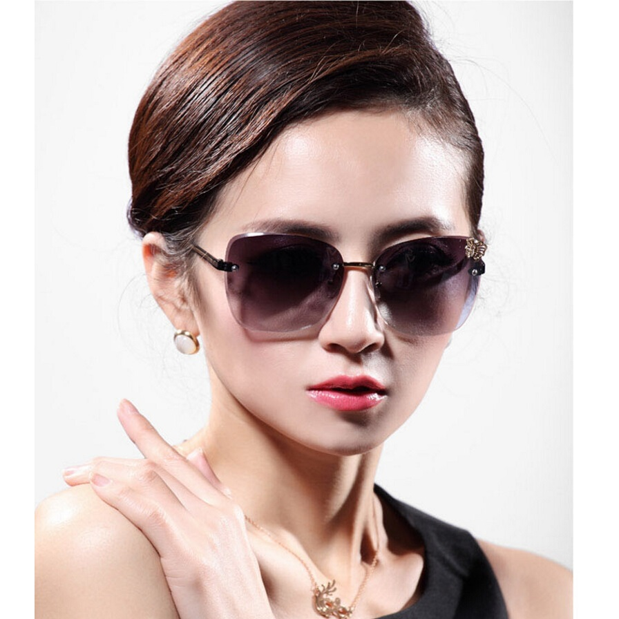 Mens sunglasses large head -  Compare Prices On Large Rimless Glasses Online Ping Low Online Get Men Sunglass Large Face