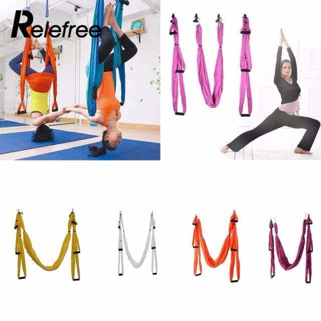 7color strength de pression yoga hammock inversion trapeze anti gravity aerial traction yoga gym strap yoga 7color strength de pression yoga hammock inversion trapeze anti      rh   aliexpress