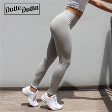 High Waist Tummy Control Tights Leggins Women Seamless Sport Leggings For Fitness Sportswear Woman Gym Yoga Pants Sports Wear cheap Full Length Elastic Waist Dutte Dutta Polyester Spandex Fits true to size take your normal size Broadcloth AA005