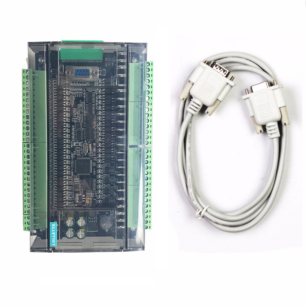 FX3U LE3U 48MT RS485 RTC real time clock 24 Input 24 Transistor output 6 analog input