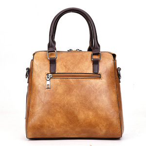 Image 4 - Bolso de mano Vintage de piel sintética para mujer, bandolera de diseñador, bolso de hombro tipo bandolera Boston, gran oferta