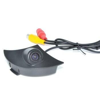 2015 HD CCD cámara de visión delantera para coche para Toyota RAV4/corola/Camry/Prado/Land Cruiser/Avensis/Auris coche cámara frontal car dv camera car sensor camera car dvd player with screen -