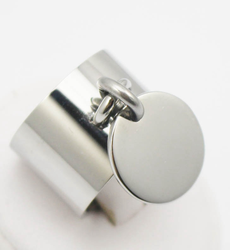 fashion silver rings anillos stainless steel big