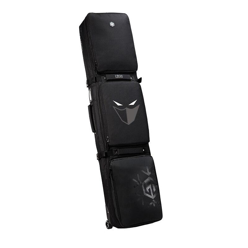 Sac à roulettes de Ski Snowboard avec roues 155 cm 165 cm 175 grande capacité imperméable portable sacs de Ski équipement de Ski Bolso Patines