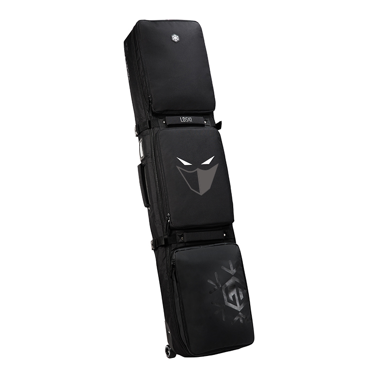 Snowboard Ski Roller Bag With Wheels 155cm 165cm 175 Large Capacity Waterproof Wearable Skying Bags Ski
