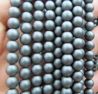 Оптовая 5 пряди 2 3 4 6 8 мм Гематит камень Titanium покрытием, круглый шар серый синий серебро, золото, бронза, фиолетовый, brozne смешанные свободные