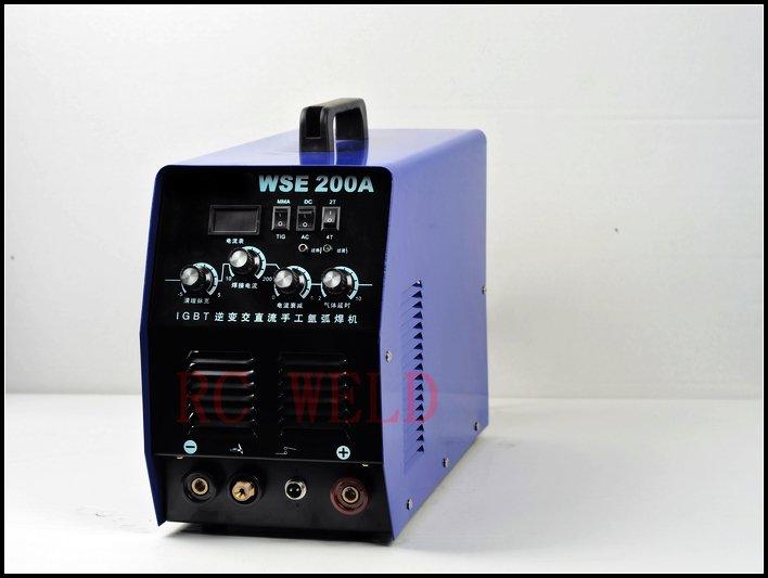 Бросился инверторный Сварочный аппарат Igbt инвертора переменного тока/постоянного тока Tig200& arc200 сварочный аппарат